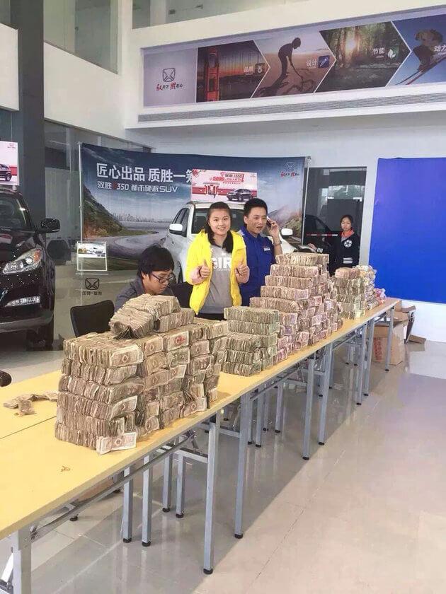 PRIA CHINA BELI MOBIL DENGAN NOMINAL KECIL