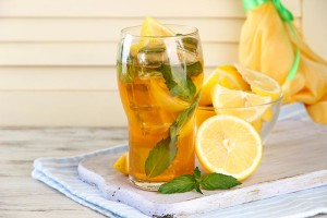 Orange-And-Mint-Iced-Lemon-Tea