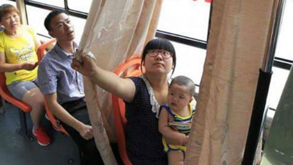 bus di china menyediakan ruang ibu menyusui