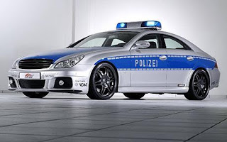 WORLD'S FASTEST POLICE CARThe title of the world's fastest operational police car is set to change hands in the near future with the recent unveiling of the Brabus CLS V12 S Rocket at the Essen Motor Show in Germany.The Lamborghini Gallardo used by Italian police to patrol the Salerno-Reggio Calabria highway is the current record holder and can hit a top speed of 309 kph (192 mph).But the Brabus, which is a converted Mercedes CLS, has become the world's fastest sedan car after clocking up 362 kph (225 mph) at the Nardo Test facility in southern Italy.The German police force has already placed an order with Brabus, and intends to use the car to patrol the country's autobahns, where sections of motorway are not governed by speed limits. (SC/WN)Supplied by WENN