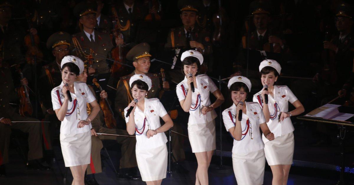 Girlband Cantik & Bertalenta Dari Korea Utara Moranbong