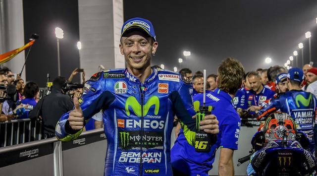 MotoGP Qatar: Rossi Terkesima dengan Pembalap Ingusan