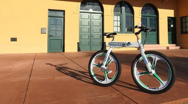 Sepeda Unik Ini Tak Butuh Rantai