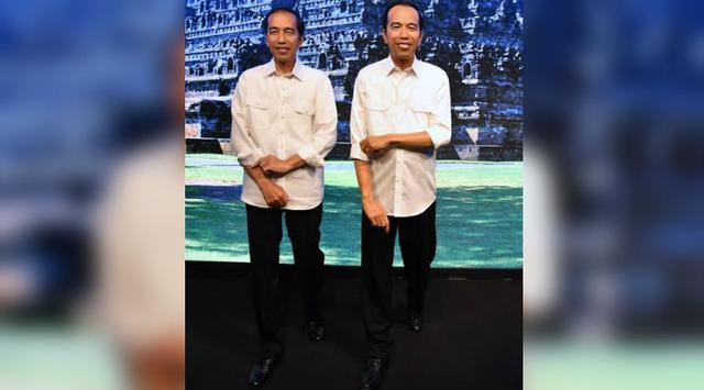 Patung Lilin Jokowi Dipamerkan di Madame Tussauds Hong Kong