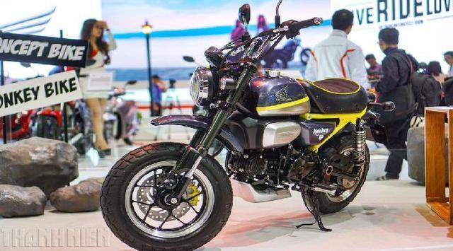 Honda Monkey Pamer Diri di Vietnam, Siap Produksi?