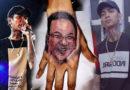 Rapper ini buat tato wajah Ahok di tangannya