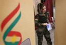 Gaya tentara cantik saat ikut referendum kemerdekaan Kurdi