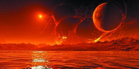Di Temukan FOSIL Pada Penjelajahan Planet Mars
