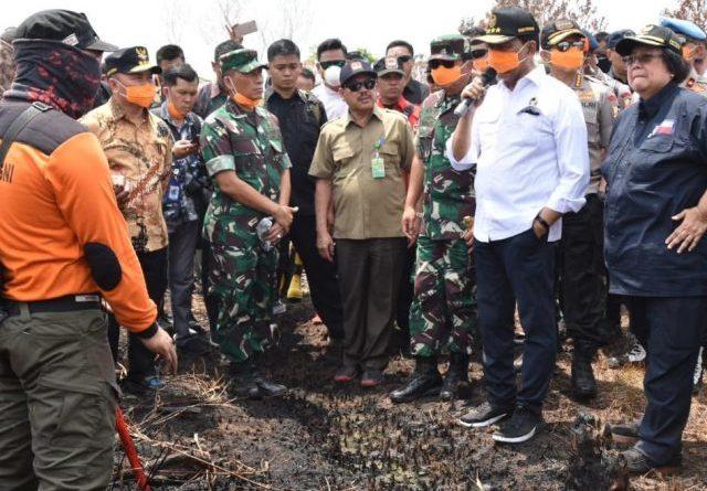Tegas, Wiranto Minta Pembakar Lahan di Kalteng Ditangkap