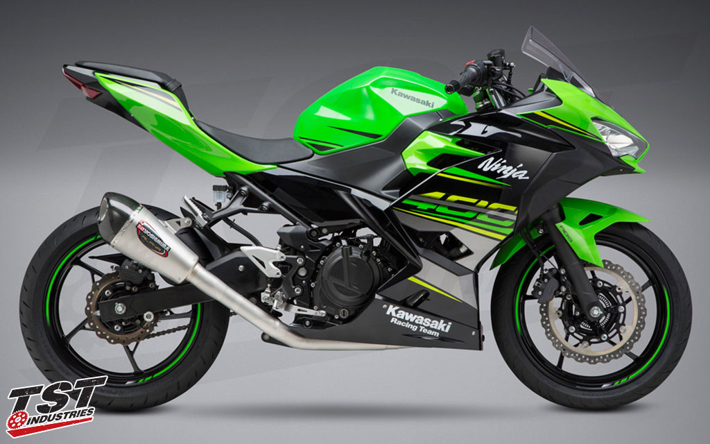 Kawasaki Perbarui Skema Warna Ninja 400