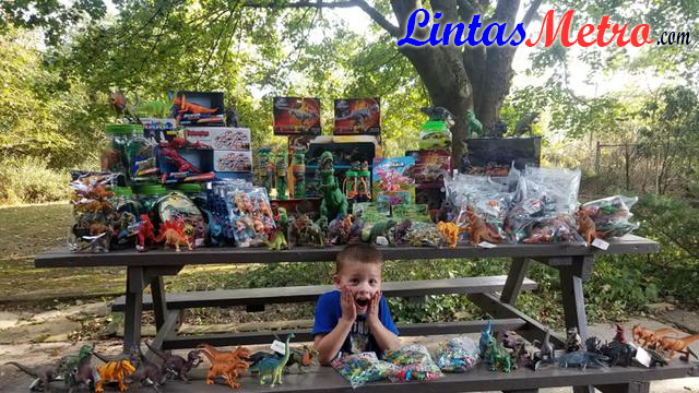 Kisah Bocah Penyintas Kanker Sumbangkan 3000 Mainan ke Rumah Sakit
