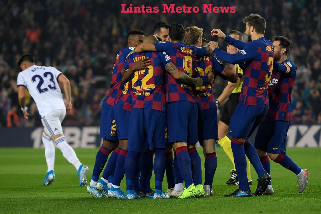 5-1 Barcelona vs Valladolid