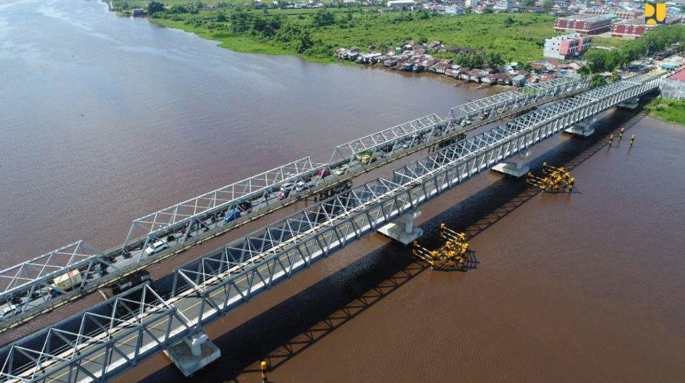 Ada Pemasangan Ikatan Angin, Cek Jadwal Buka Tutup di Jembatan