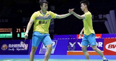 Indonesia amankan 1 gelar di denmark open 2019