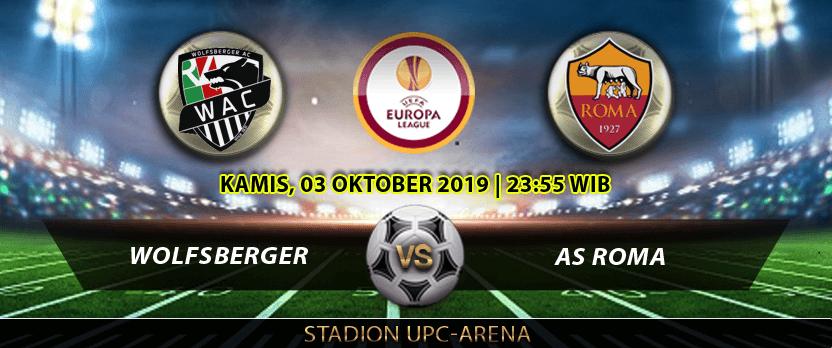 Wolfsberger vs AS Roma Duel Sesama Serigala