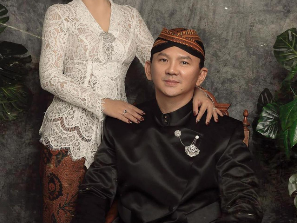 Foto Pernikahan Ahok