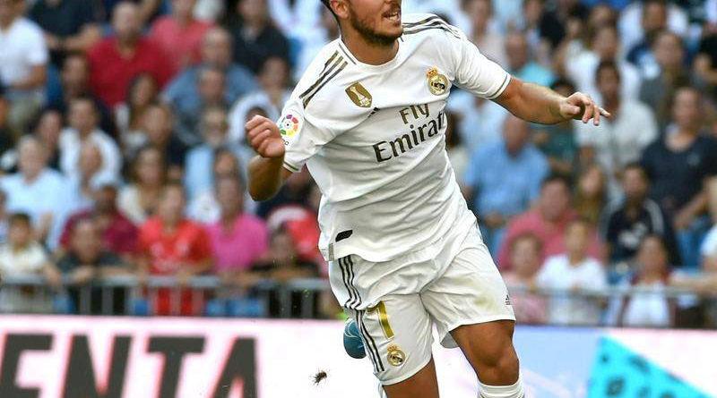 Eden Hazard Akhirnya Bikin Goal Pertama Untuk Real Madrid