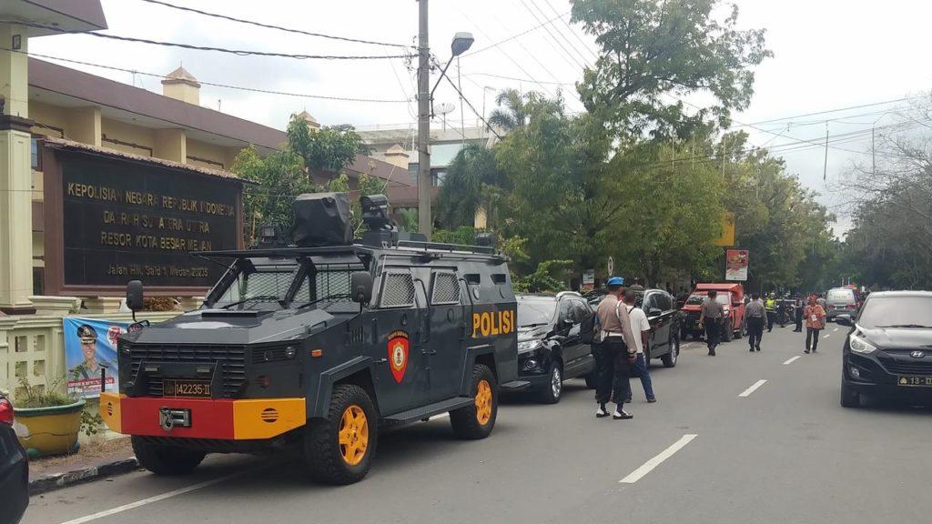 Pengakuan Tukang Bubur saat Bom Meledak di Mapolrestabes Medan