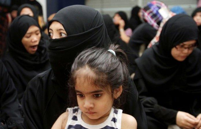 450 WNI Pulang dari Saudi, Bawa Anak Bermuka Arab.