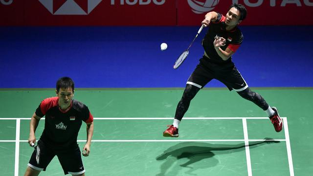 Ahsan/Hendra Menangi Derbi Indonesia Di Hong Kong Open 2019
