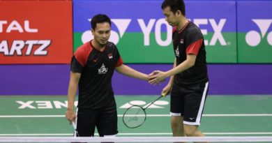 Ahsan/Hendra Runner-Up Di Hong Kong Open 2019
