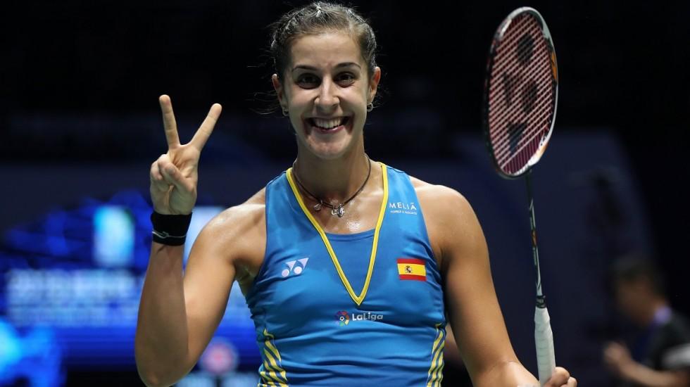 Carolina Marin Mundur Pada Babak Ke Dua Di Fuzhou China Open 2019