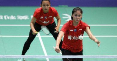 Della/Rizki Lolos ke Semifinal Macau Open 2019