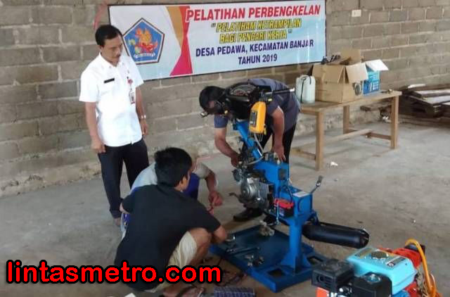 Disnaker Klaim Pelatihan Kerja Tekan Pengangguran di Buleleng,