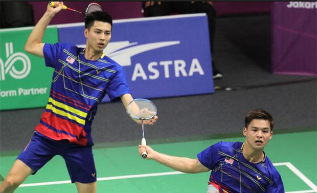 Fajar/Rian Selesai pada Babak Kedua Hong Kong Open 2019