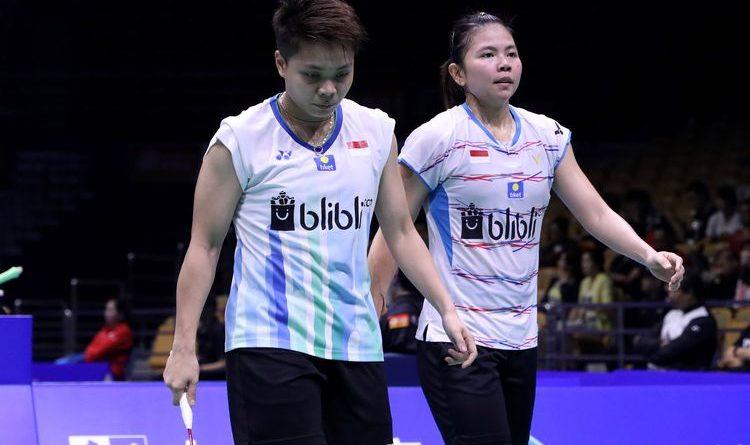 Greysia/Apriyani Kalah di Babak Pertama Fuzhou China Open 2019