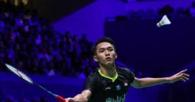 Jonatan Tersisih Di Fuzhou China Open 2019