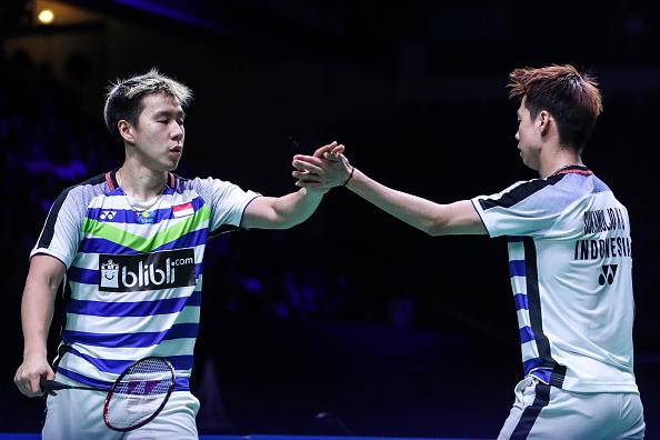 Marcus/Kevin Melaju Ke Babak Dua Fuzhou China Open 2019