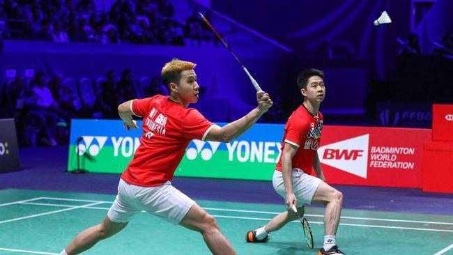 Marcus/Kevin Rebut Gelar Ke-8 Setelah Kalahkan Kamura/Sonoda Di Final Fuzhou China Open 2019