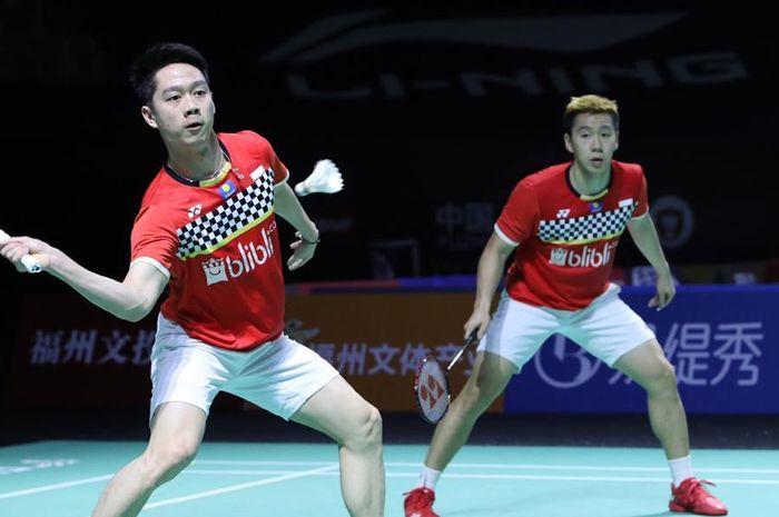 Marcus/Kevin Tembus Final Fuzhou China Open 2019