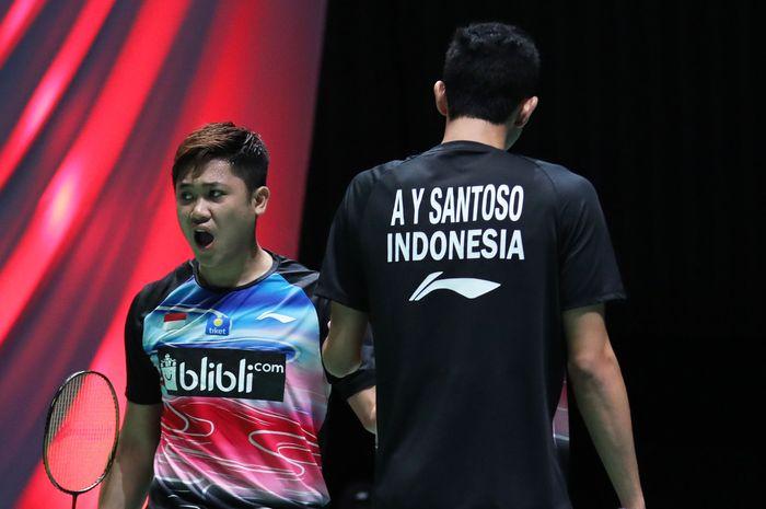 Wahyu/Ade Tersingkir Di Fuzhou China Open 2019