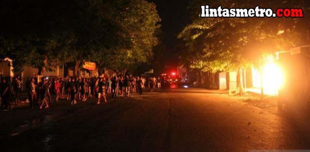 Pasar Ngunut Tulungagung Terbakar, 70 Persen Kios Hangus
