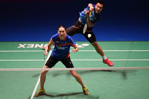 Hafiz/Gloria Hadapi Laga Berat Di Indonesia Masters 2020
