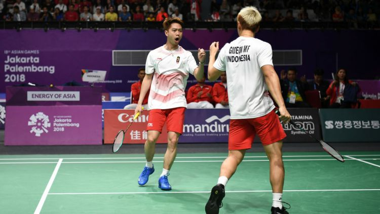 Marcus/Kevin Lolos Semifinal BWF World Tour Finals 2019