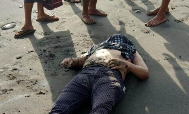 Mayat Pedagang Ditemukan di Pantai Batu Tampih