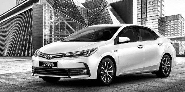 Review Spesifikasi New Toyota Corolla Altis