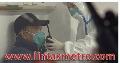 Penampakan Pasien Virus Corona Dalam Ruang Isolasi