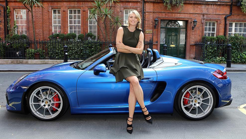 Ternyata Maria Sharapova Seorang Pecinta Porsche