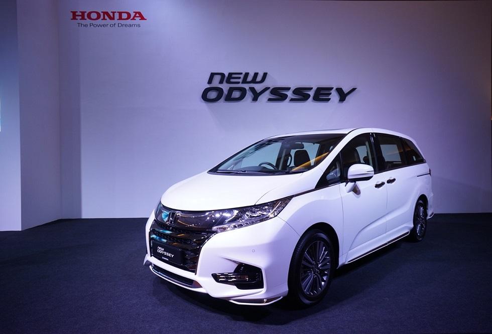 Honda Odyssey Akan Meluncurkan Generasi Terbaru
