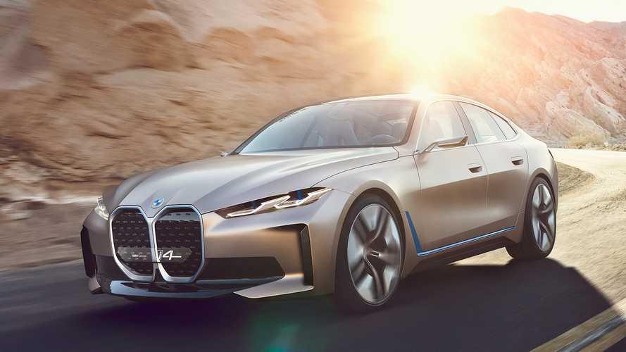 Mobil Listrik BMW Pamerkan i4 Concept