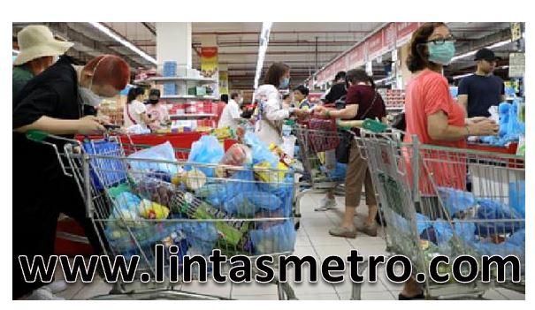 Malaysia LockDown Dan Warga Singapore Panic Buying