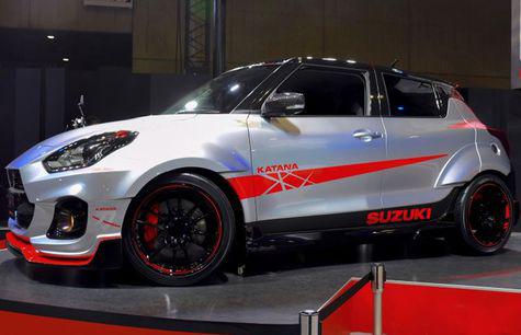 New Suzuki Swift Sport Katana Edition