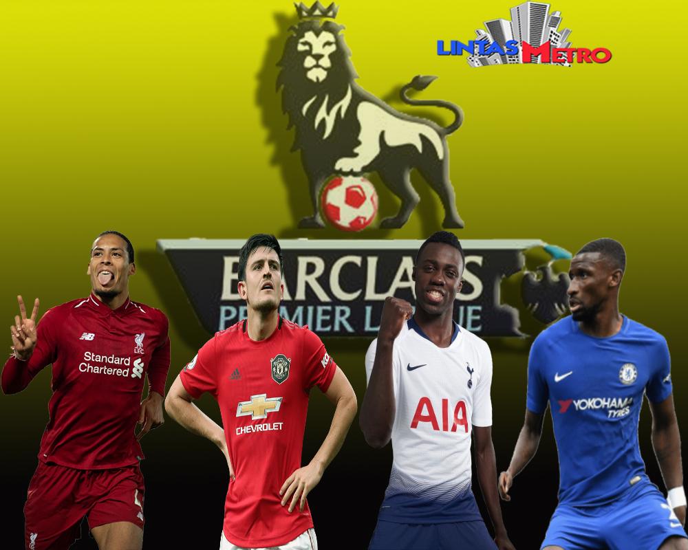4 Bek Tergarang diPentas Premier League