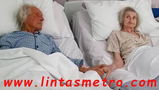 62 Tahun Menikah Potret Haru Pasangan Lansia