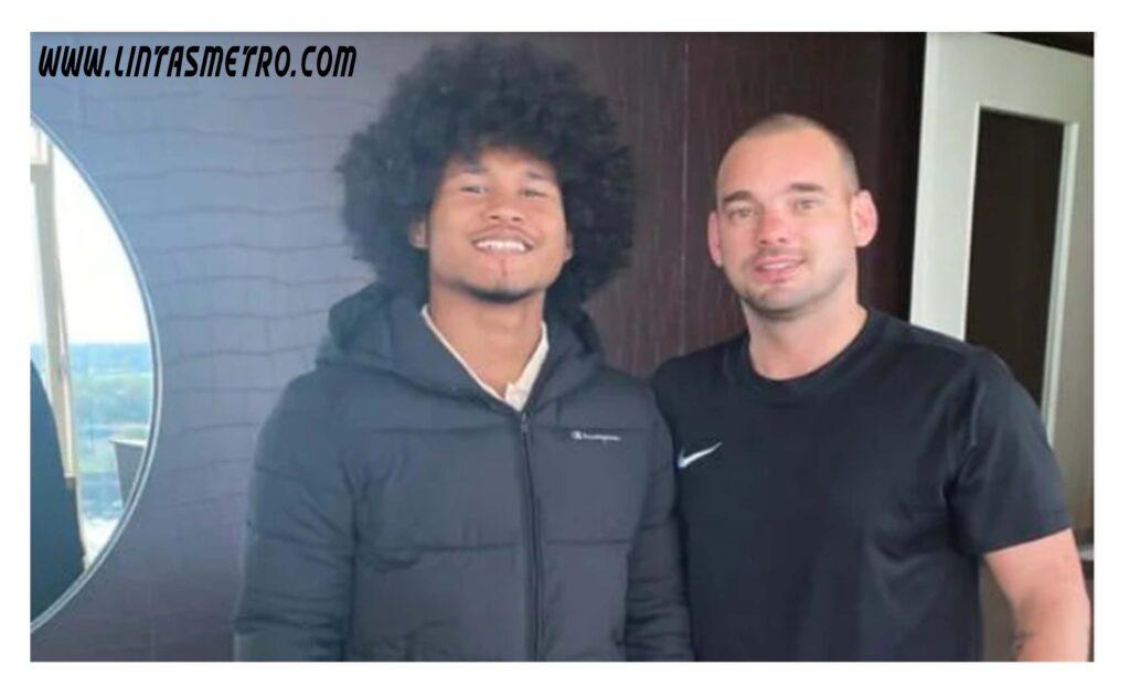 Bagus Kahfi & Wesley Sneijder