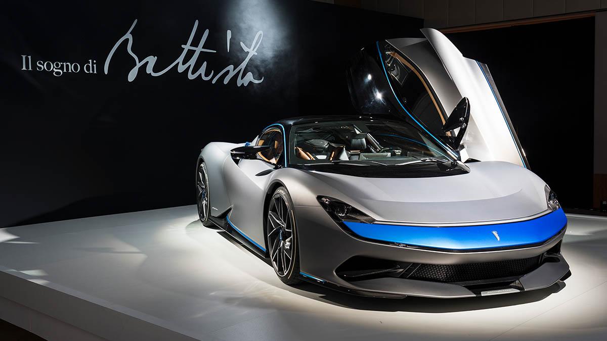 Mobil Listrik Yang Baru Pininfarina Battista
